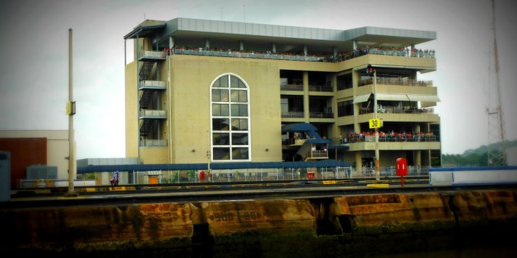 Looking at Panama Canal