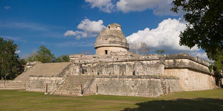 File:Chichen Itza Observatory