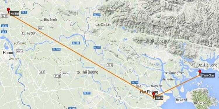 Halong bay flight (including