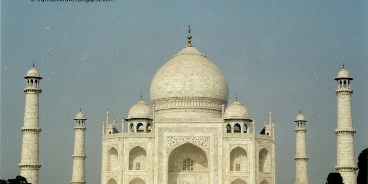 My India Travel: Taj Mahal