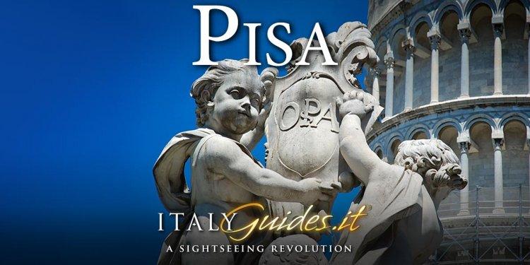 Pisa Map - Interactive map of