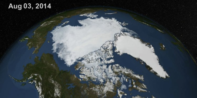 2014 Polar Ice Caps Growing