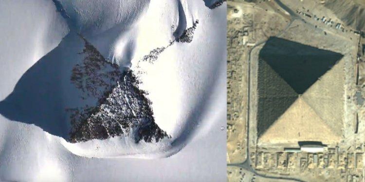 Huge Pyramid in Antarctica