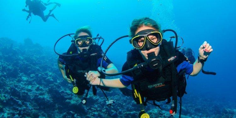 Scuba diving has been recently