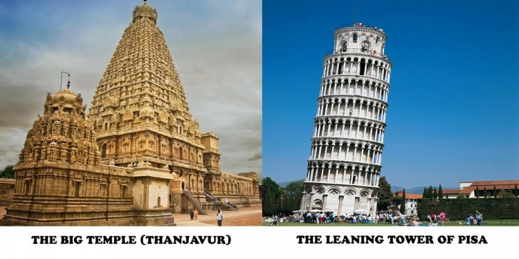 THE BIG TEMPLE vs THE LEANING