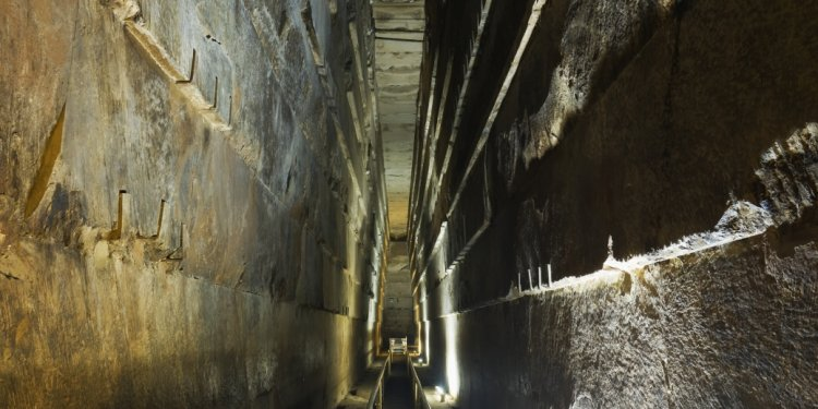 The grand gallery, king khufu