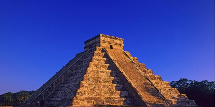 The pyramid of El Castillo