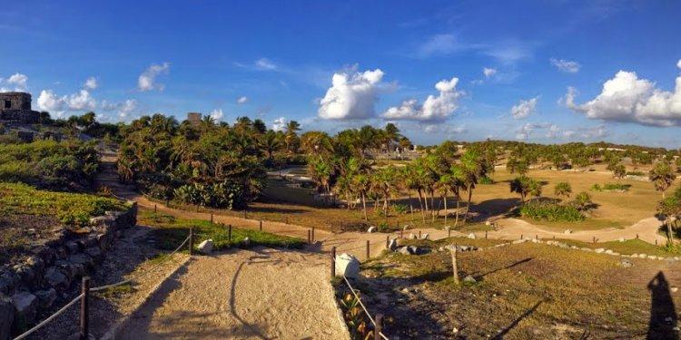 The Yucatan Peninsula is full
