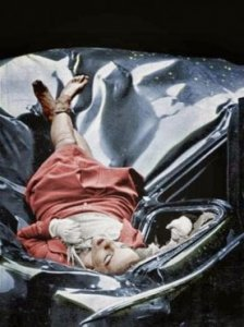 Evelyn McHale, colored image.