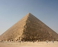 Build the Great Pyramid of Giza