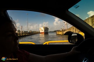 see Driving through Panama Canal
